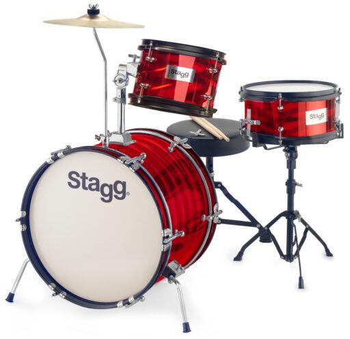 Stagg TIM JR 3/16B RD