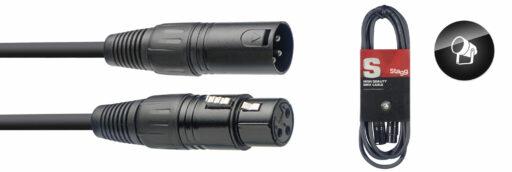 DMX kabel 3-pin XLR/XLR