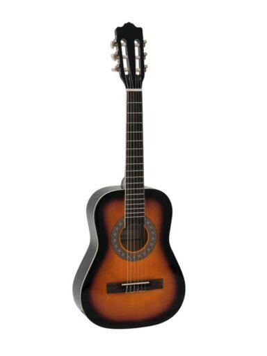 Dimavery AC-303 klasická kytara 1/2 sunburst