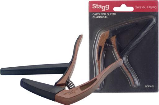 Stagg SCPX-FL DKWOOD kapodastr plochý