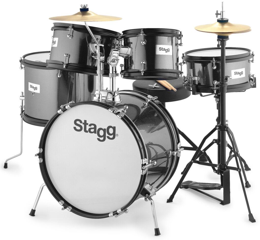 Stagg TIM JR 5/16B BK