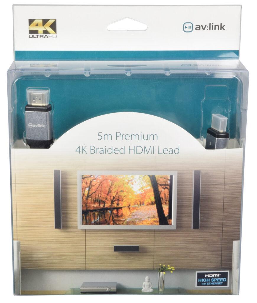 AV:Link Prémiový HDMI kabel s podporou 4K