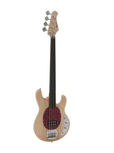 elektrická baskytara bezpražcová