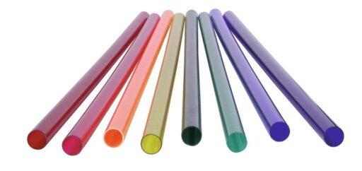 Barevný filtr pro neónovou trubici T5