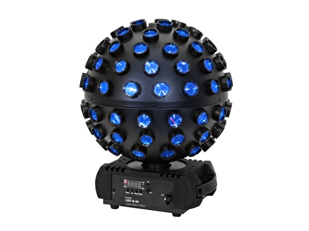 5x4W QCL efekt s lasere