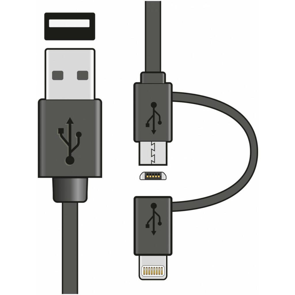 AV:Link Apple Lightning a MicroUSB kabel