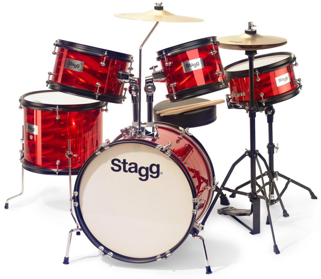 Stagg TIM JR 5/16B RD