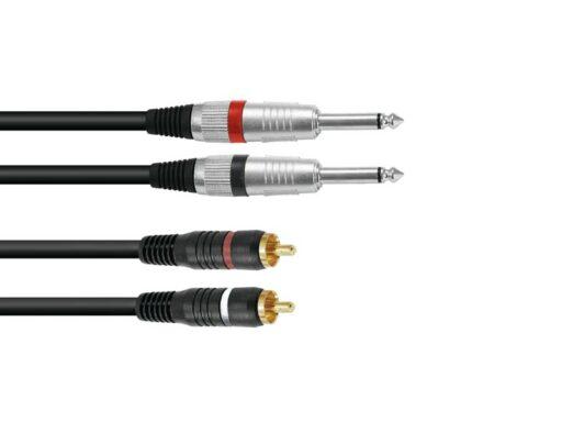 Kabel KC2-60 2x Jack 6