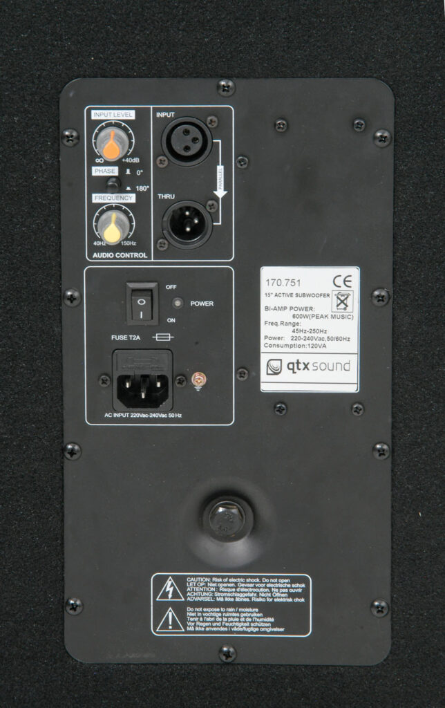 QTX SMWA18 PA aktivní subwoofer