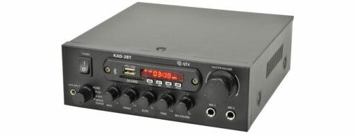 QTX KAD-2BT Digital stereo zesilovač s Bluetooth