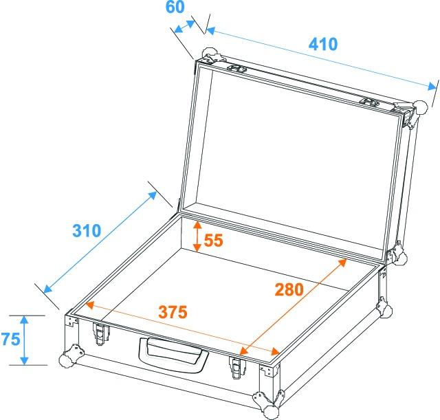 Mikrofonní kufr Pro 7