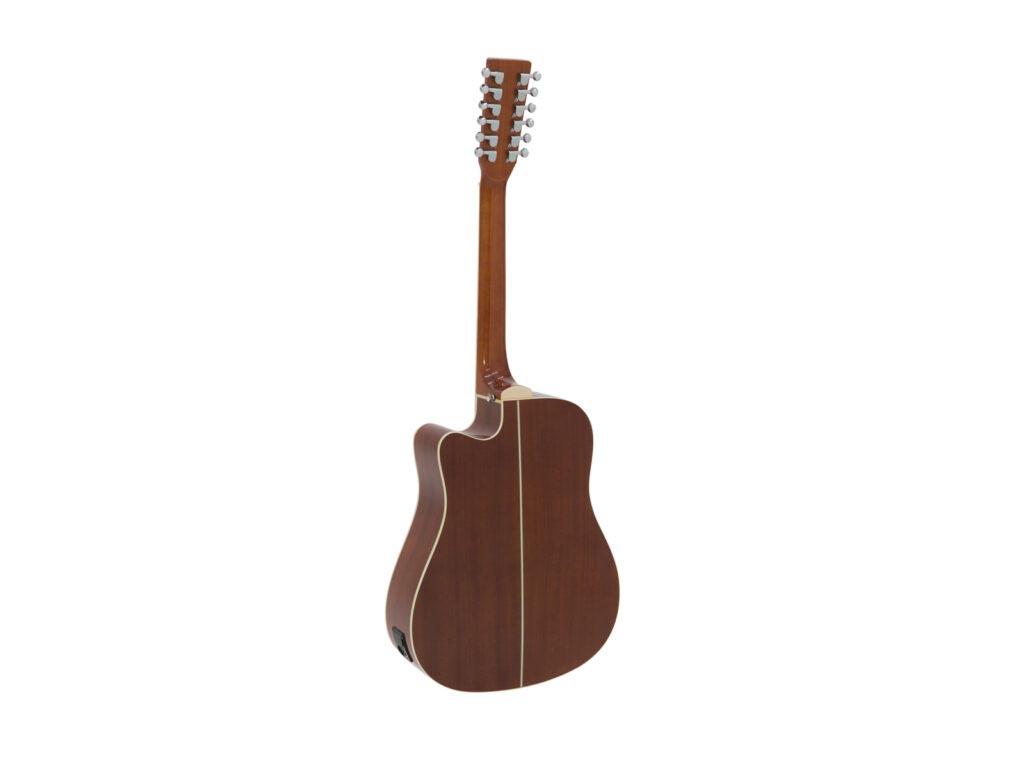 elektroakustická 12-ti strunná kytara
