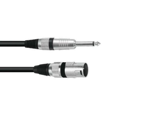 Kabel XK-09 XLR samec - Jack 6