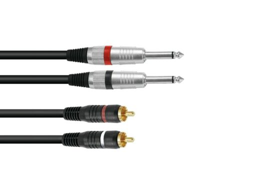 Kabel KC2-10 2x Jack 6