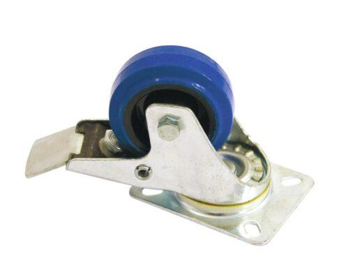 Otočná kolečka Blue Wheel s brzdou