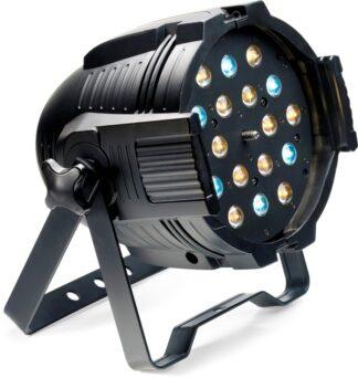 Stagg LED PAR MLZ-18x3W studená/teplá bílá DMX černý