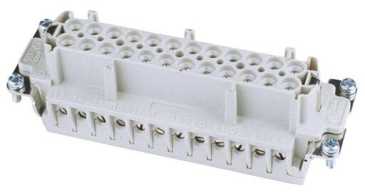 Zásuvkový konektor 24 pólový