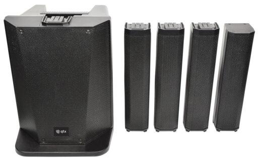 QTX Quorus Aktivní audio systém s DSP a Bluetooth