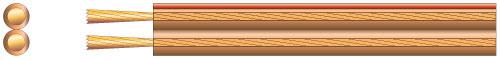 Repro kabel transparentní 1
