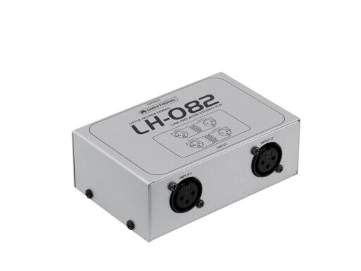 Omnitronic LH-082 Stereo isolator XLR