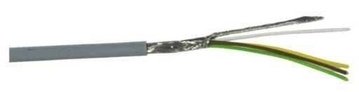 Kabel datový stíněný LiYCY 4x0.14 qmm