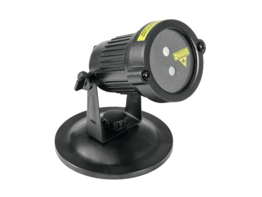 zahradní laserový projektor