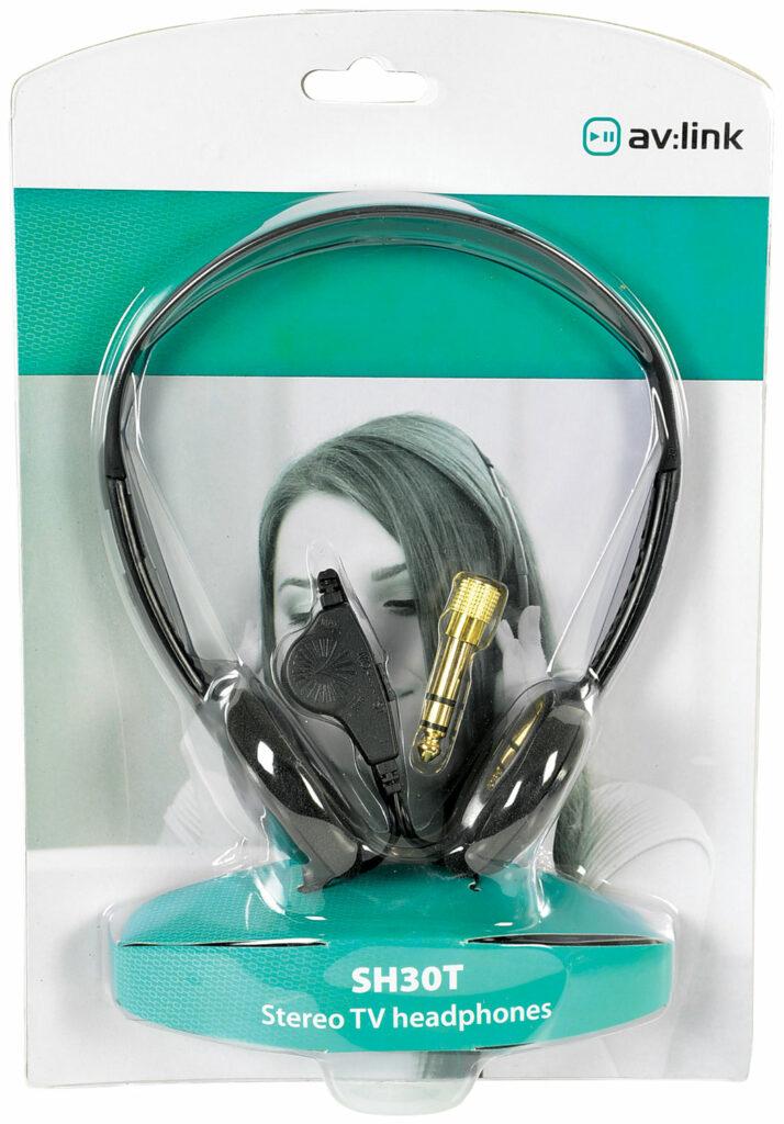AV:link SH30T stereo TV sluchátka