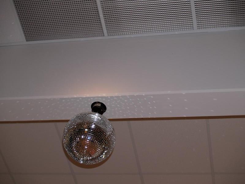 5 ot./min. pro zrcadlové koule do 40 cm