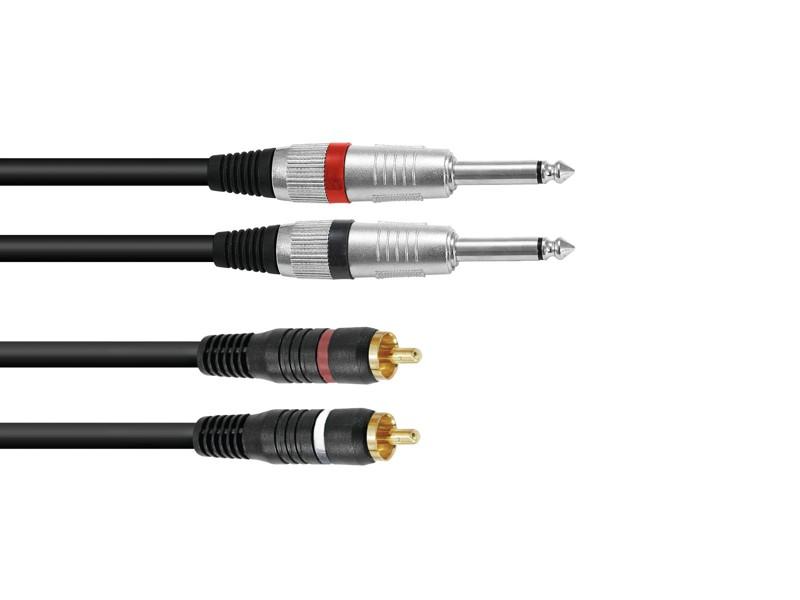 Kabel KC2-15 2x Jack 6