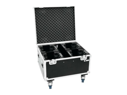 Roadinger Flightcase pro 4x TMH FE-600