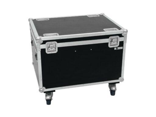 Roadinger Flightcase pro 4x LED THA-100F/THA-120PC na kolečkách