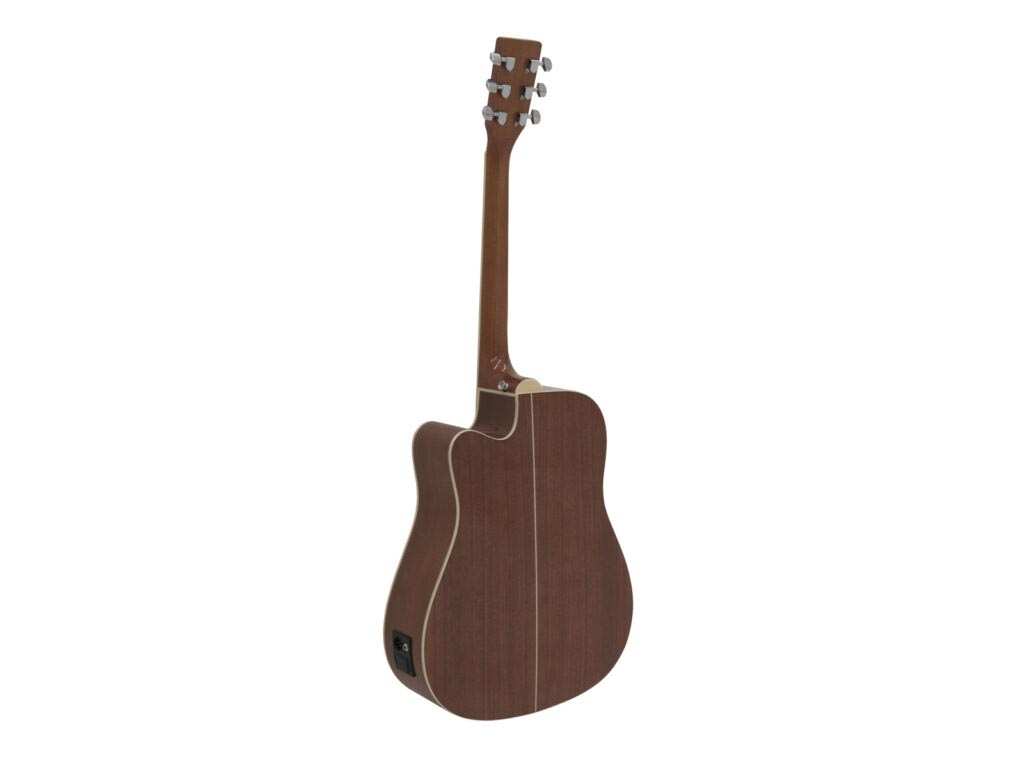 elektroakustická kytara typu Dreadnought