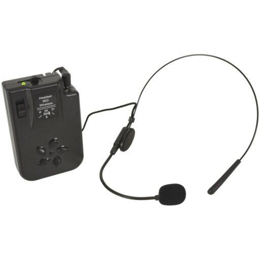 náhlavní mikrofonní sada pro QTX zvukové systémy BUSKER