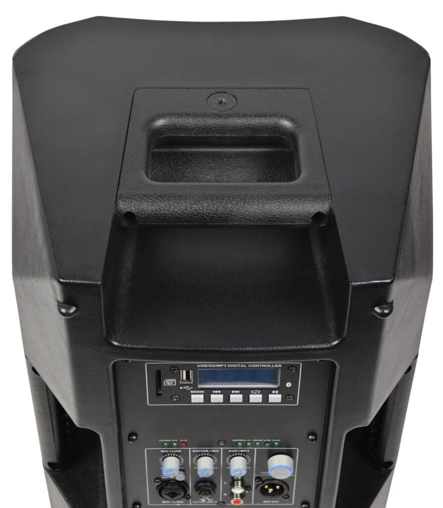 "aktivní 8"" reprobox DSP/USB/SD/BT"