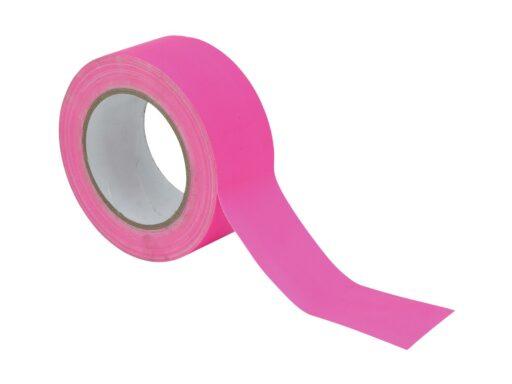 Gaffa páska 50mm x 25m neonově růžová