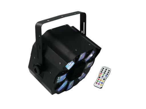 Eurolite LED Shogun 6x 3W RGBAWP s DO DMX