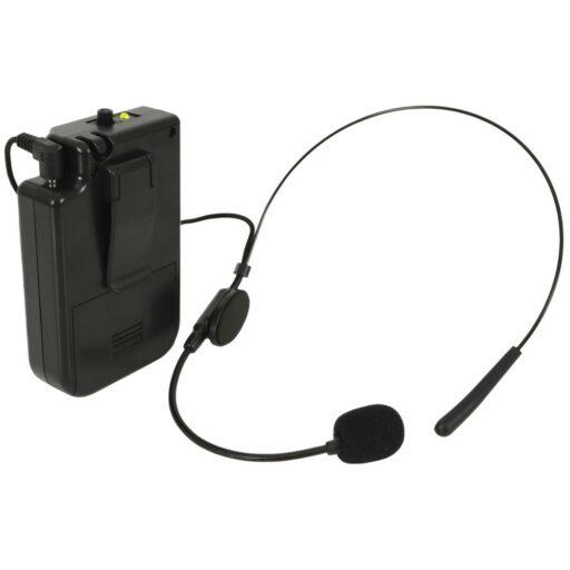 QTX BHS-174.1 VHF náhlavní mikrofonní set pro QTX zvukové systémy