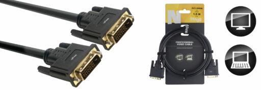 propojovací DVI-D kabel