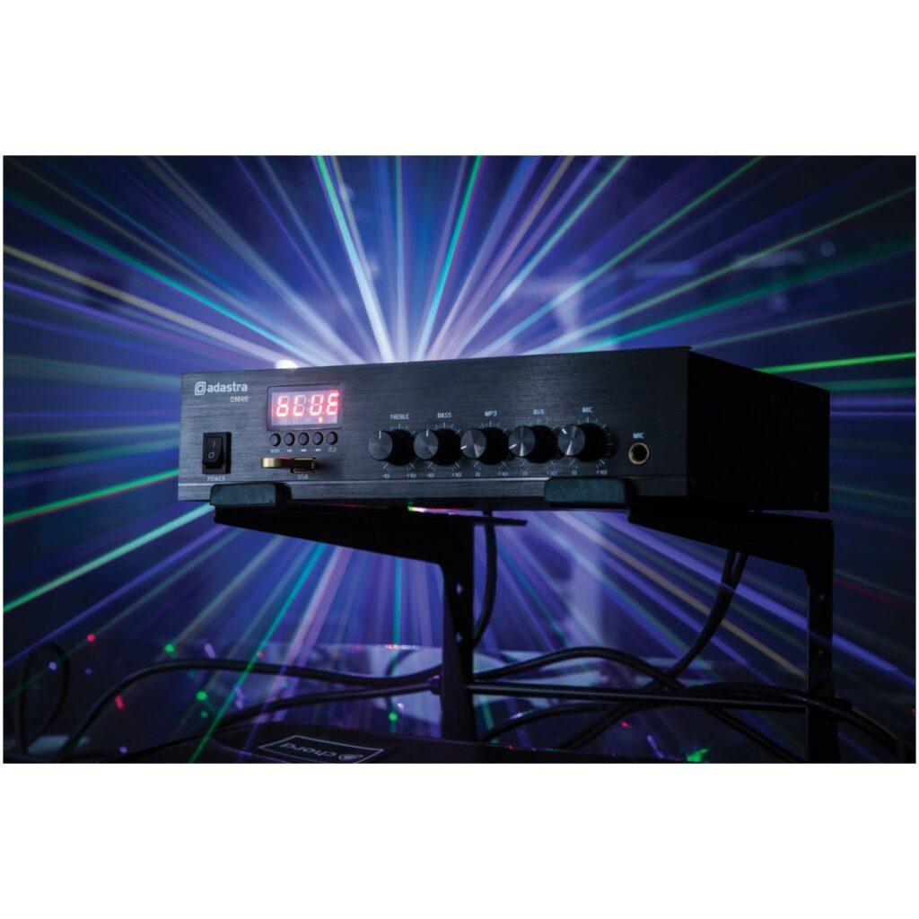 digitální 100V mixážní zesilovač