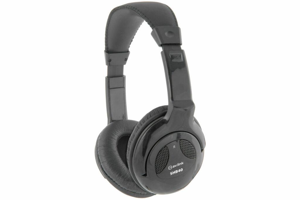 AV:link SHB40 stereo Hi-Fi sluchátka