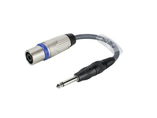 Sommer cable adaptér 6.3mm Jack / Speakon NLT4MX