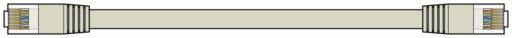 AV:Link Ethernetový kabel Cat6 UTP RJ45