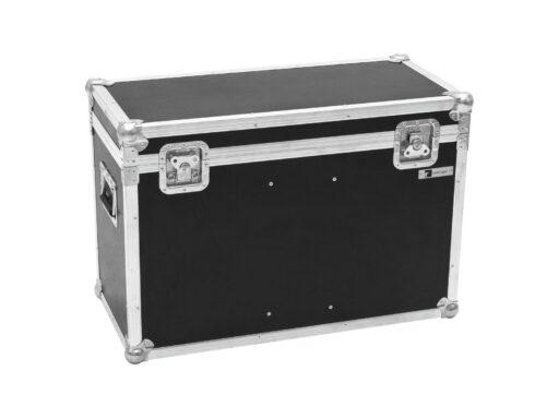 Roadinger Flightcase pro 2x LED THA-100F/THA-120PC