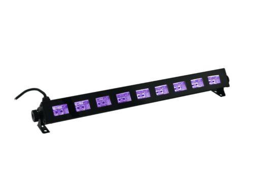 Eurolite LED osvětlení BAR 9x 1W SMD UV čipy