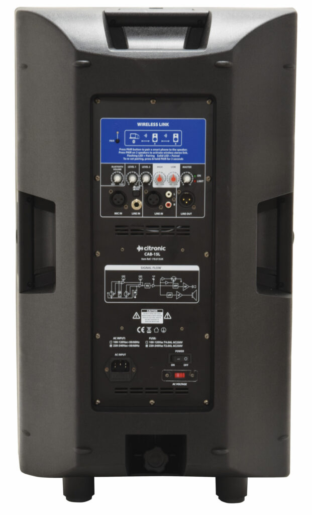 Citronic CAB-15L Aktivní reproduktor s Bluetooth