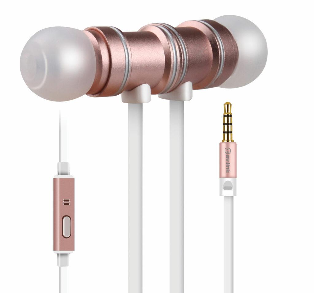AV:link sluchátka In-Ear Magnetic