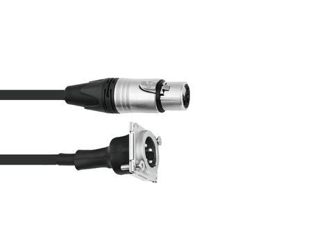 PSSO Patch kabel XLR(F)/XLR(M) S 1m