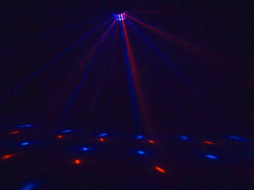 Eurolite LED Derby 6x 3W RGBAW