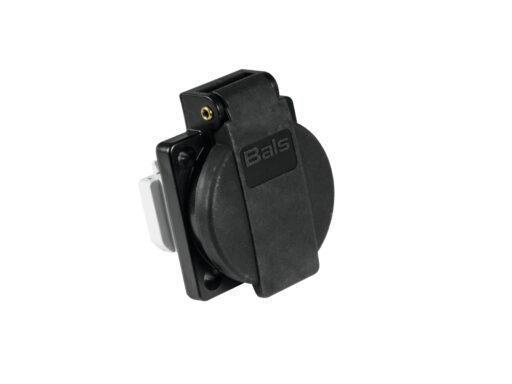 BALS bezpečnostní krytka 16A černá