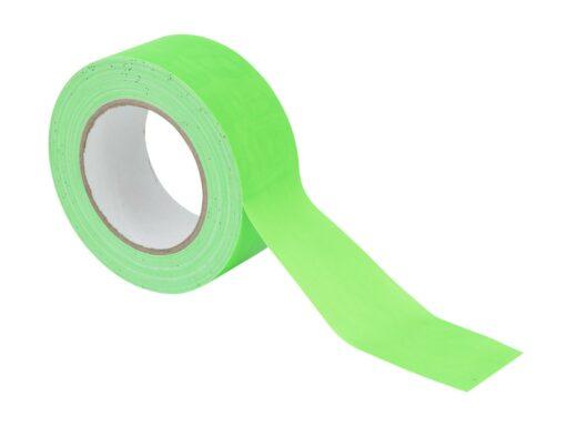 Gaffa páska 50mm x 25m neonově zelená
